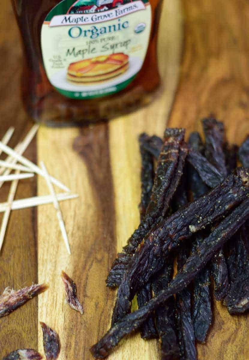Like sweet jerky? Well, this is your lucky day. This Pure Maple Syrup Jerky will sweeten stun your taste buds! | Jerkyholic.com