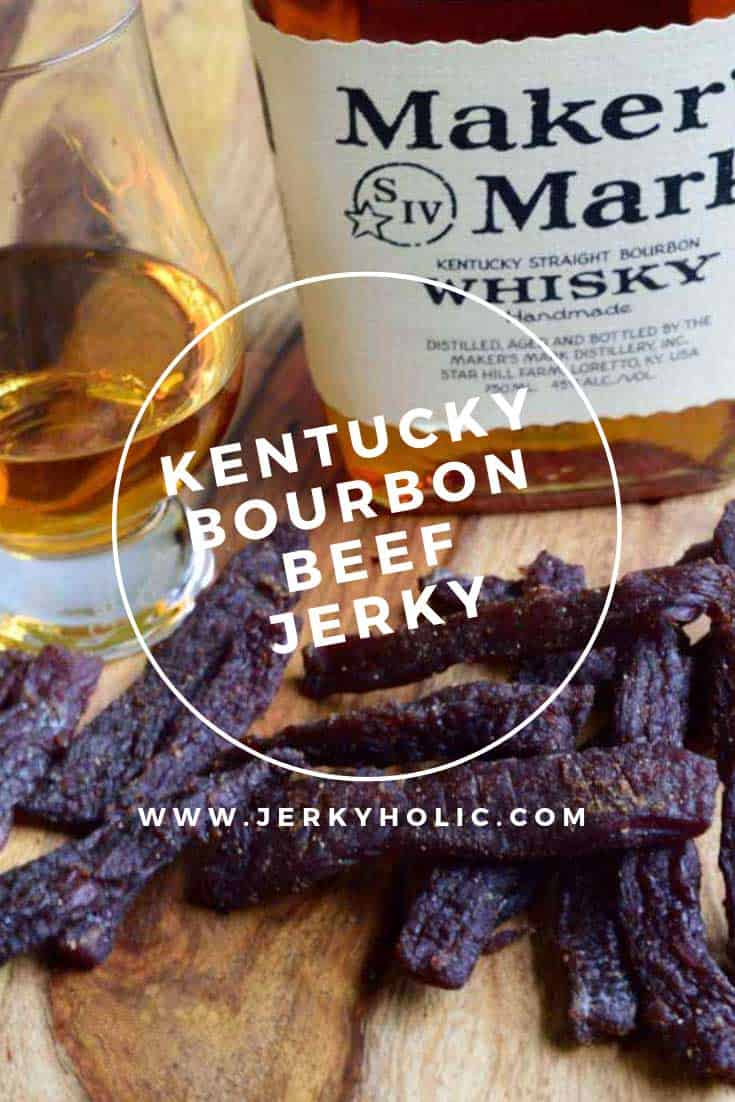 Kentucky Bourbon Beef Jerky