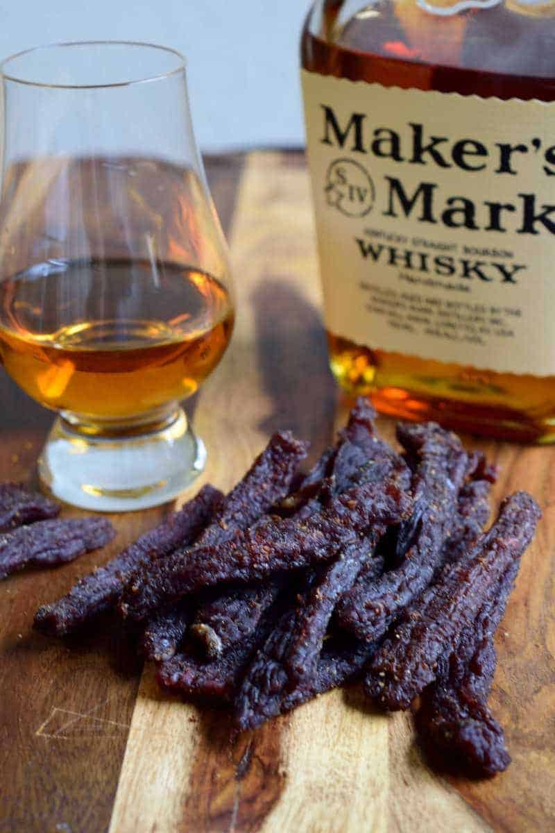 Kentucky Whisky Beef Jerky Finished