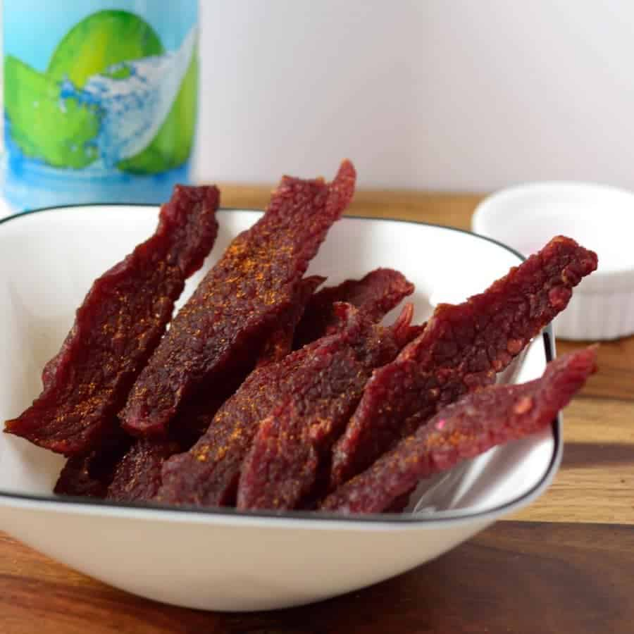 Tropical Island Beef Jerky Squared