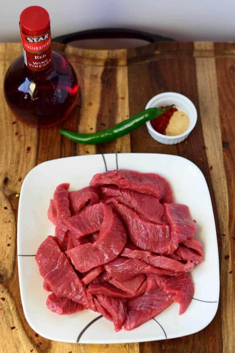 Mexican Heat Beef Jerky Sliced