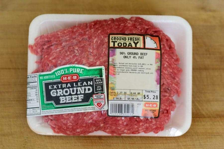 Ground Beef Packaged