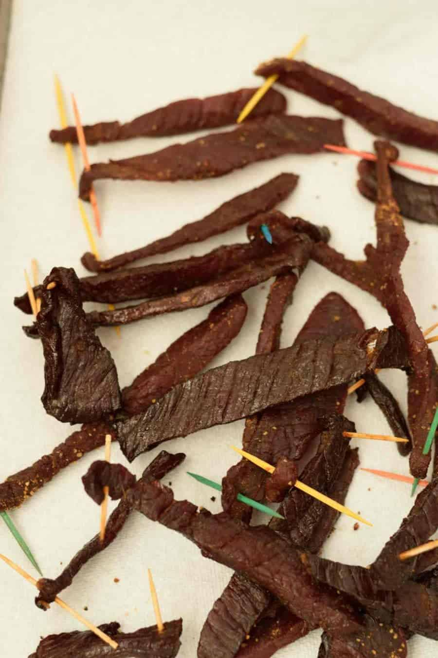 Tennessee Smoked Beef Jerky. What are you waiting for? Fire up that smoker and make some Jerky! | Jerkyholic.com