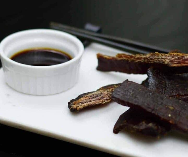Teriyaki II Beef Jerky knocks the socks off store bought teriyaki jerky. You HAVE to make a batch today! | Jerkyholic.com