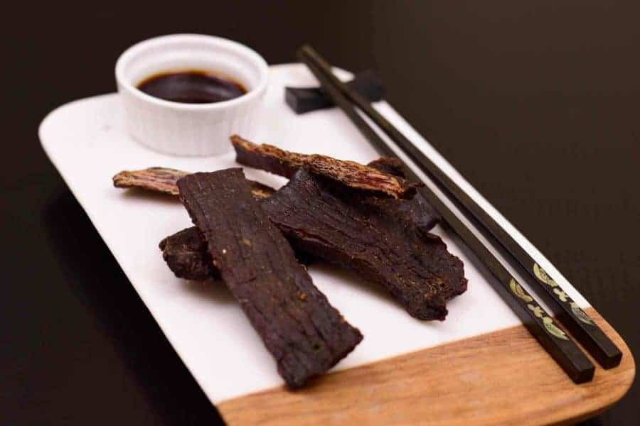 Teriyaki II Beef Jerky Finished