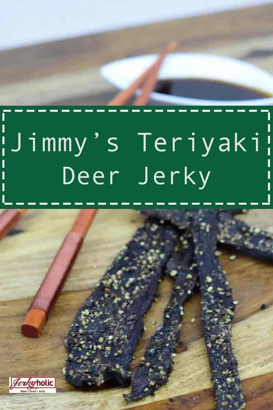 Jimmy\'s Teriyaki Deer Jerky