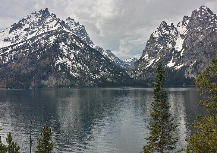 Jenny Lake Tetons in May