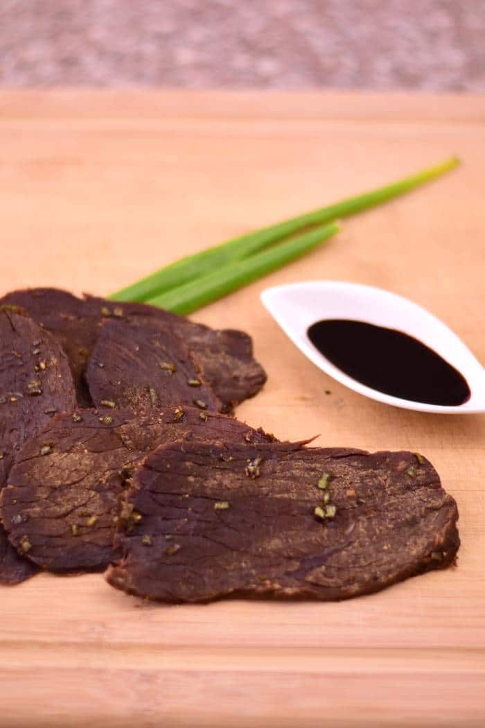 A nice salty jerky with the rich flavor of soy sauce | Jerkyholic.com