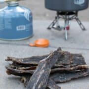 Vinegar Horseradish Beef Jerky?! It sounds like a crazy flavor, but this jerky turned out pretty darn good!   Jerkyholic