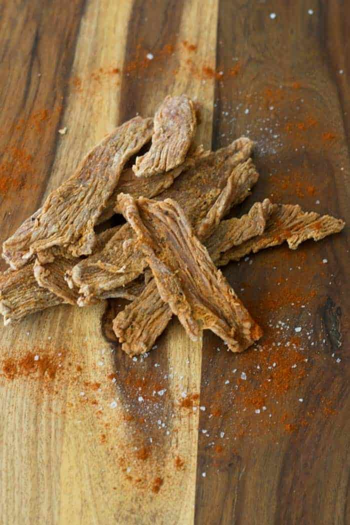 A smokey and spicy turkey jerky that will have you craving for more. You have to make this jerky | Jerkyholic