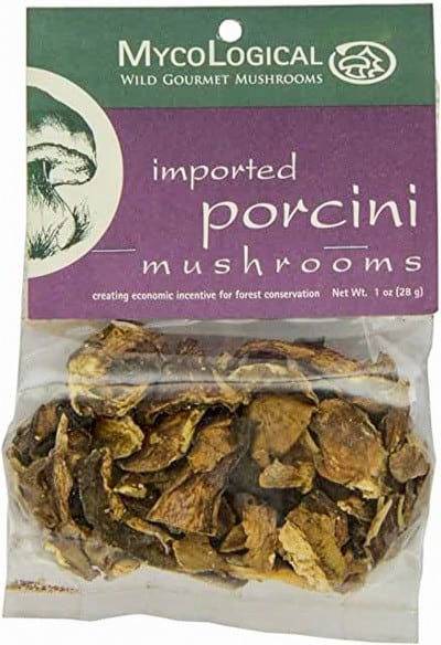 Dried porcini packet