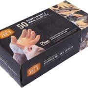 Box of nitrile gloves in box