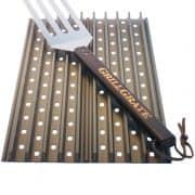 Sear plates with grill spatula