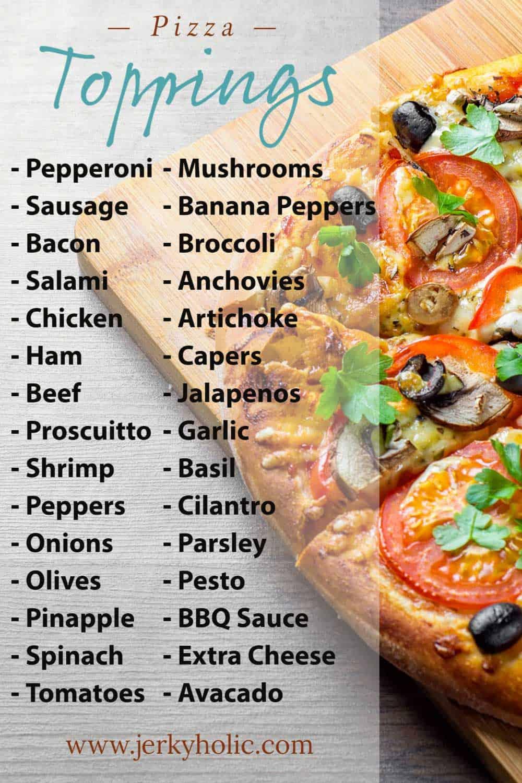 Cheesy Smoked Pizza (30 topping ideas)